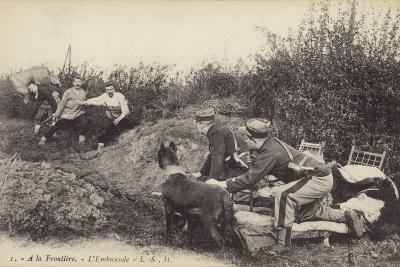 Ambush at the Frontier, World War I--Photographic Print