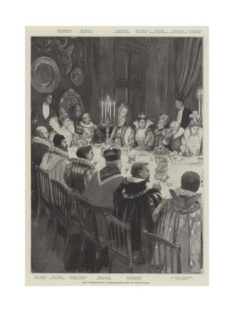 Lady Tweedmouth's Costume Dinner Party at Brook House
