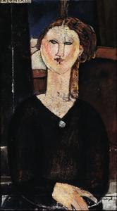 Antonia, circa 1915 by Amedeo Modigliani