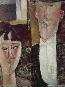 Bride and Groom (The Couple), 1915/16 by Amedeo Modigliani