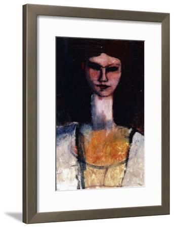Bust of a Young Woman; Buste De Jeune Femme, C.1910-11