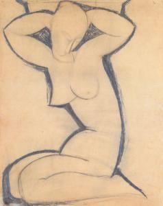 Caryatid by Amedeo Modigliani