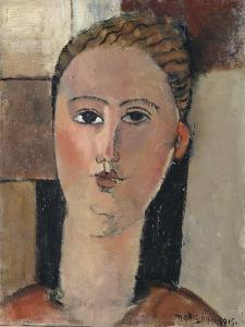 Fille rousse by Amedeo Modigliani