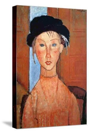 Girl with a Black Hat, 1918