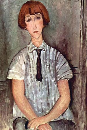 Girl with Blouse