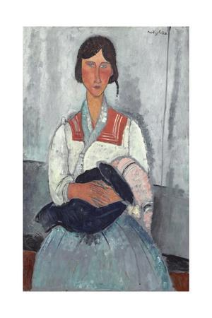 Gypsy Woman with Baby, 1919
