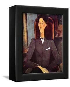 Jean Cocteau, 1917 by Amedeo Modigliani