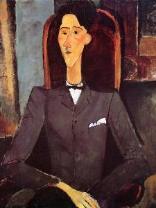 Jean Cocteau, 1917 by Amedeo Modigliani