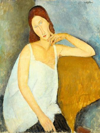 Jeanne Hébuterne (1898–1920), 1919 by Amedeo Modigliani