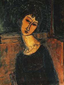 Jeanne Hebuterne, C.1916-17 by Amedeo Modigliani