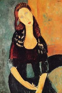 Jeanne Hébuterne seated by Amedeo Modigliani