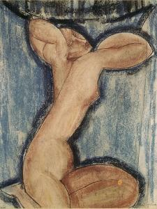 La cariatide by Amedeo Modigliani
