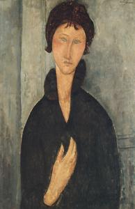 La femme aux yeux bleus by Amedeo Modigliani