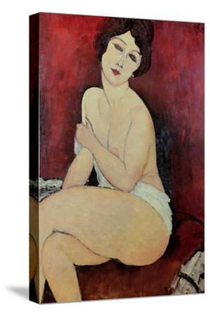 Large Seated Nude