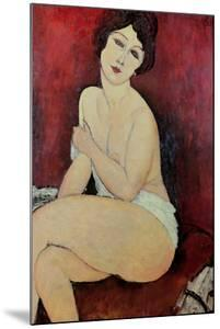 Large Seated Nude by Amedeo Modigliani