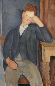 Le jeune apprenti by Amedeo Modigliani