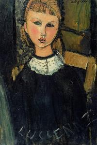 Lucienne, c.1916-17 by Amedeo Modigliani