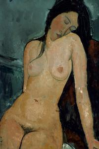 Modigliani: Nude, C1917 by Amedeo Modigliani