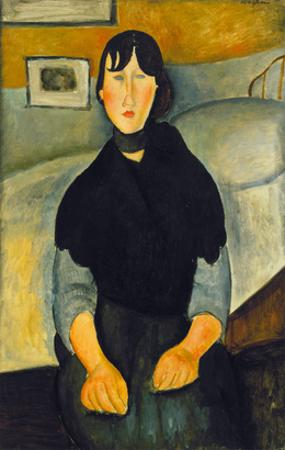 Modigliani: Woman, 1918