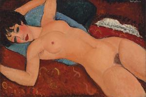 Nu Couche by Amedeo Modigliani