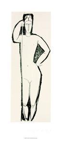 Nu de Face by Amedeo Modigliani