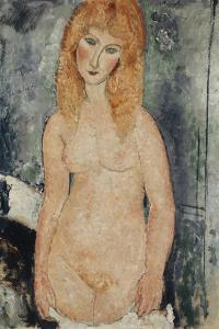 Nude Standing, C.1917-18 by Amedeo Modigliani