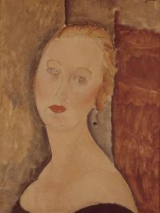 Portrait de madame Sauvage by Amedeo Modigliani