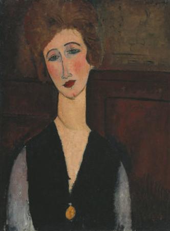 Portrait of a Woman, c.1918 by Amedeo Modigliani
