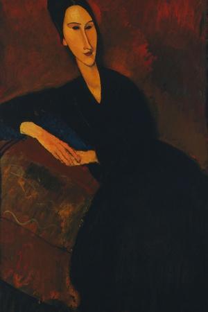 Portrait of Anna Zborowska, 1917