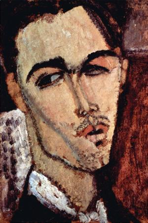 Portrait of Celso Laga by Amedeo Modigliani