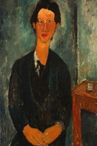 Portrait of Chaïm Soutine (1893-194) by Amedeo Modigliani