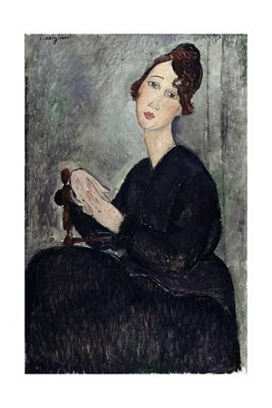 Portrait of Dedie (Odette Hayden)