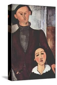 Portrait of Jacques and Berthe Lipchitz by Amedeo Modigliani
