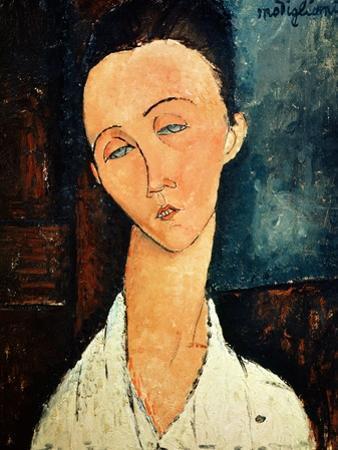 Portrait of Lunia Czechowska, 1918 by Amedeo Modigliani