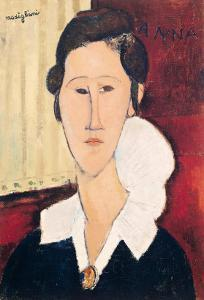 Portrait of Madame Hanka Zborowska, 1917 by Amedeo Modigliani