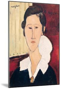 Portrait of Madame Hanka Zborowska, 1917 by Amedeo Modigliani