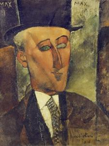 Portrait of Max Jacob, 1916 by Amedeo Modigliani