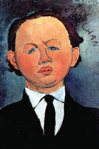 Portrait of Mechan by Amedeo Modigliani