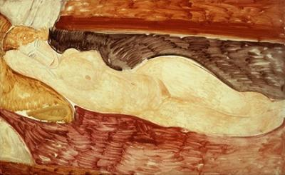 Reclining Nude, 1918 by Amedeo Modigliani