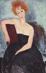 Red-Headed Woman by Amedeo Modigliani
