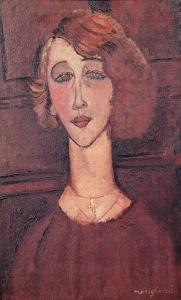Renee, 1917 by Amedeo Modigliani
