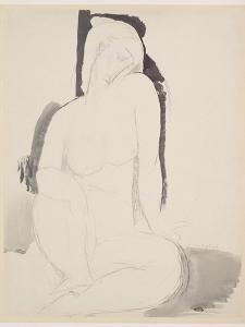Amedeo Modigliani - Seated Nude