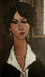 The Algerian Almaisa by Amedeo Modigliani