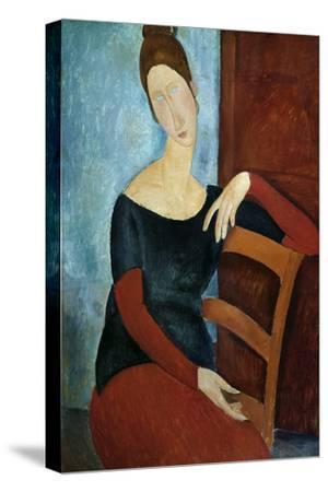 The Artist's Wife (Jeanne Huberterne) 1918