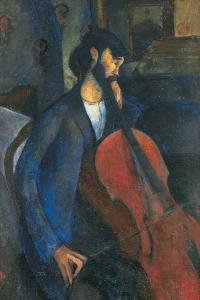 The Cellist, 1909 by Amedeo Modigliani