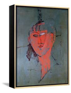 The Red Head, circa 1915 by Amedeo Modigliani