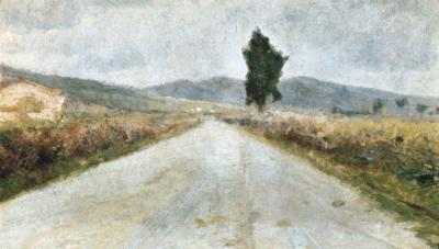 The Tuscan Road by Amedeo Modigliani