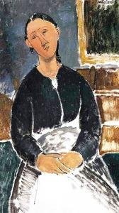 The Waitress, 1915 by Amedeo Modigliani