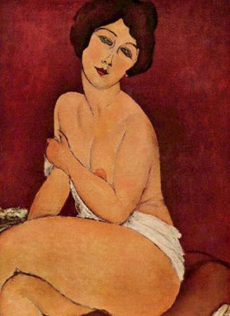 Weiblicher Akt Nude