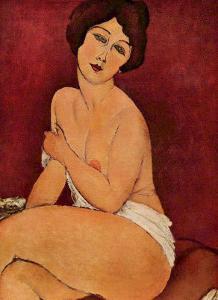 Weiblicher Akt Nude by Amedeo Modigliani